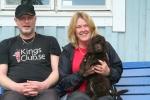 Frihamras Here Comes The Sun (Nicko) med sin nya familj Roger o Marianne