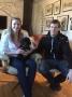Frihamras Lex Moon River (Iver) med sin nya matte Hanna och husse Erik