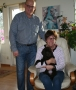 Frihamras Ian Mcewan (Harry) med sin nya matte Anneli och husse Uffe