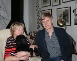 Idag åker Frihamras Black Delight (Bibbi) hem till Varberg med sin nya matte Agneta och husse Lennart.