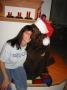 Julkort med Cornelia och Dandy