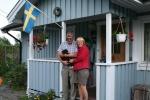 Miro med husse Björn och matte Kicki