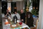 När matte Ulla lämnade bordet var Rufus inte sen att ta hennes plats