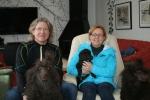 Idag flyttar Frihamras Shining Saturn (Miro)till sitt nya hem i Norge. Här är han med pappa Nelson och mamma Java och sin nya matte Cecilie och husse Andreas