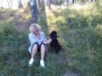 Linnea med Alissa 3 månader