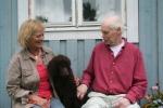 Scilla med sin nya familj Marika o Kenneth